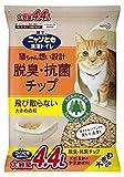 ニャンとも清潔トイレ 猫砂 脱臭・抗菌チップ 大容量 M サイズ