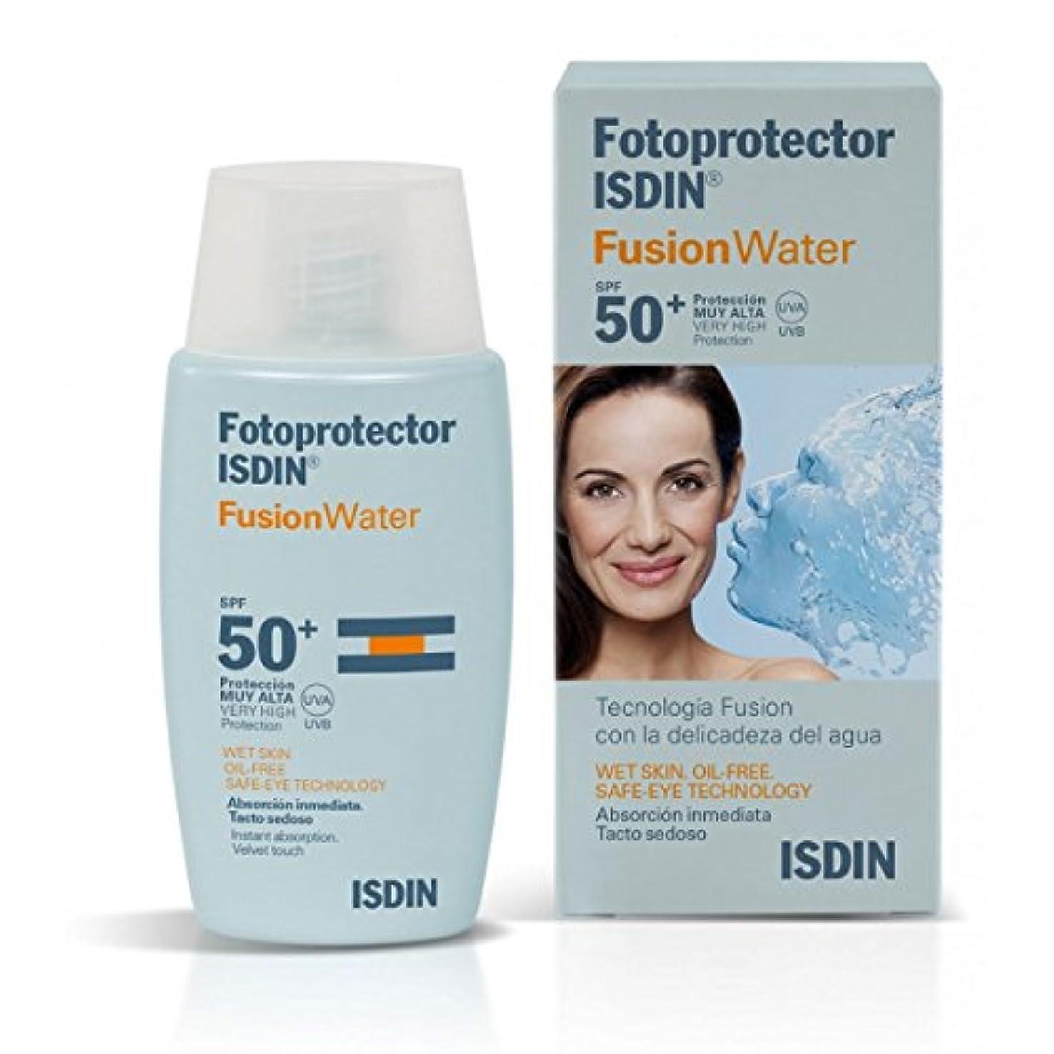 スクラッチ価値のない稼ぐIsdin Sunscreen Fusion Water Spf50+ 50ml [並行輸入品]