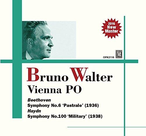 ハイドン : 交響曲 第100番 「軍隊」   ベートーヴェン : 交響曲 第6番 「田園」 (Beethoven : Symphony No.6 'Pastrale' (1936)   Haydn : Symphony No.100 'Military' (1938) / Bruno Walter & Vienna PO) [日本語帯・解説付]の詳細を見る