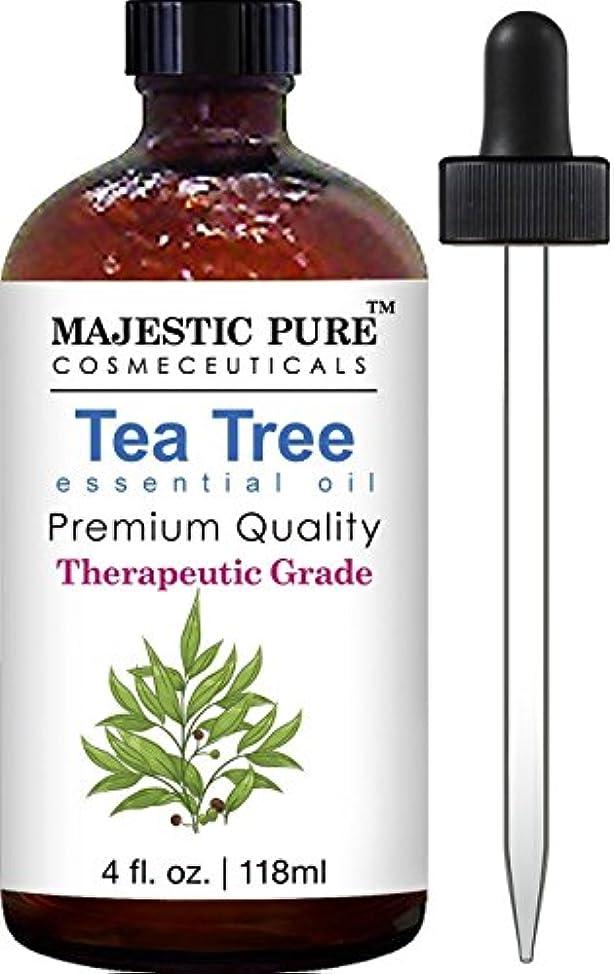 発行休戦教Tea Tree Essential Oil 4 fl.oz. 118 ml ティーツリーオイル
