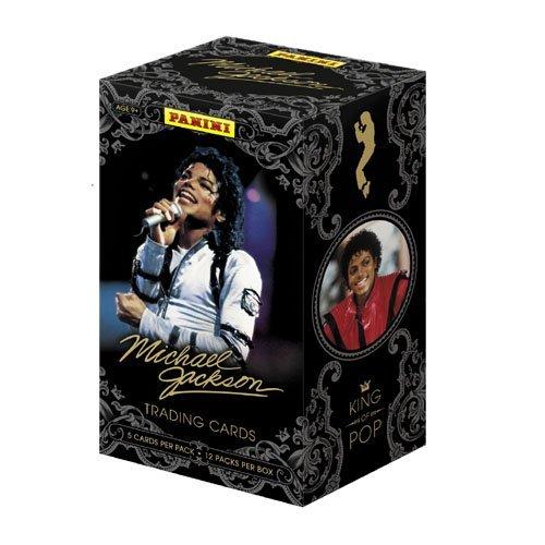 【マイケル ジャクソン】トレーディングカード ボックス (Michael Jackson)
