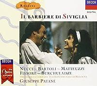 Rossini - Il barbiere di Siviglia / Nucci, Bartoli, Matteuzzi, Fissore, Bruchuladze, Patan猫 (1989-09-26)