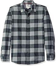 Goodthreads (グッドスレッズ) メンズ スリムフィット 長袖 起毛 フランネルシャツ