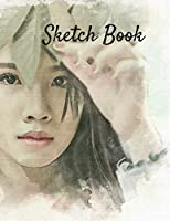 Sketch Book: Art Themed Notebook for Drawing, Writing, Painting, Sketching