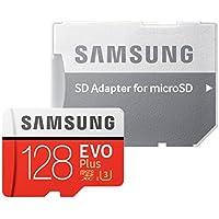 【3年保証】microSDXC 128GB Samsung サムスン EVO Plus UHS-I Class10 U3 4K対応 専用SDアダプター付 [並行輸入品]