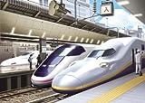ステップアップジグソーパズル JRの電車と駅 画像