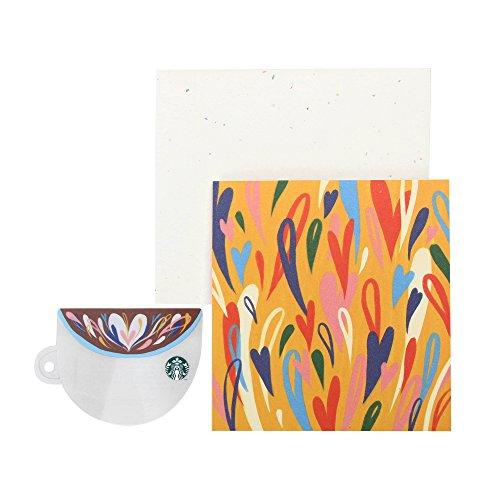 スターバックス コーヒーカップ グリーティング カード (1,000円入金済スターバックス カード付) Starbucks 2018