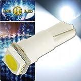 LEDバルブT5ホワイト1個 3chip内蔵SMDメーター球 as175