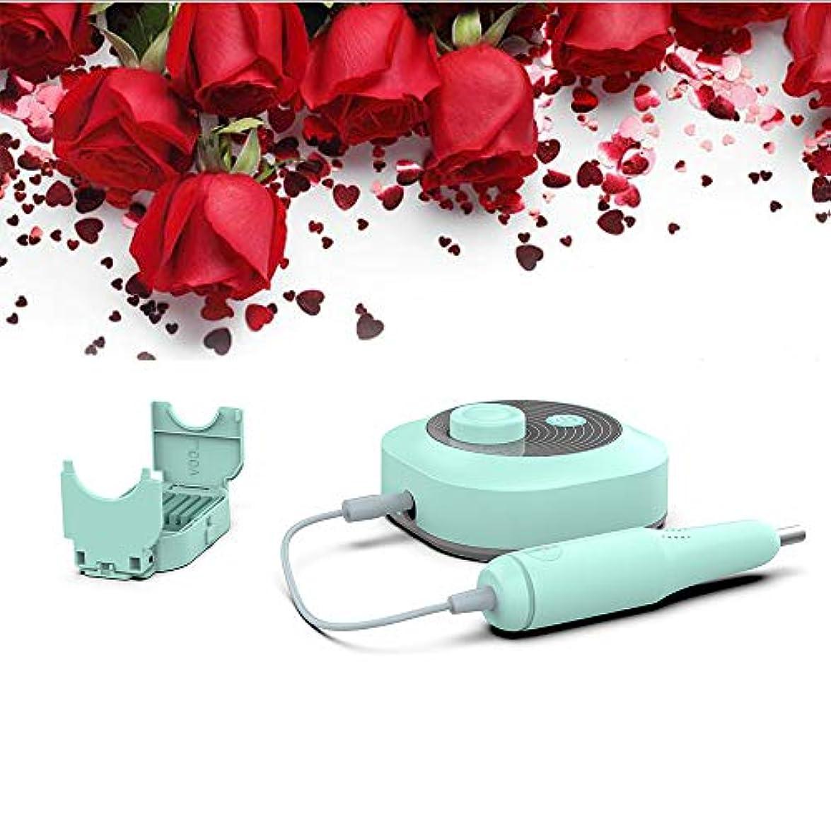電卓潮哀れな家庭用のアクリル、ジェルネイルマニキュアペディキュア研磨ツールの設計のためのコンパクトなポータブル電動ネイルドリル