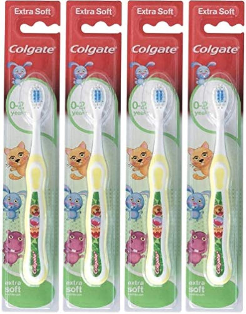 呼吸する注意伝説Colgate 私の最初のソフト、4のパックを歯ブラシ