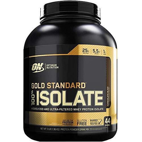 Optimum Gold Standard 100% Isolate Chocolate 3 lb - オプティマム ゴールドスタンダード 100% アイソレート チョコレート 3 ポンド