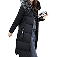 Misaky Women's Snow Coat Long Down Jacket Puffer Thicker Winter Parka Overcoat
