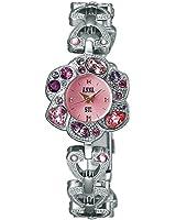 ANNA SUI アナスイ ローズブレスレット シルバー×ピンク 【国内正規品】 腕時計 レディース FCVK922