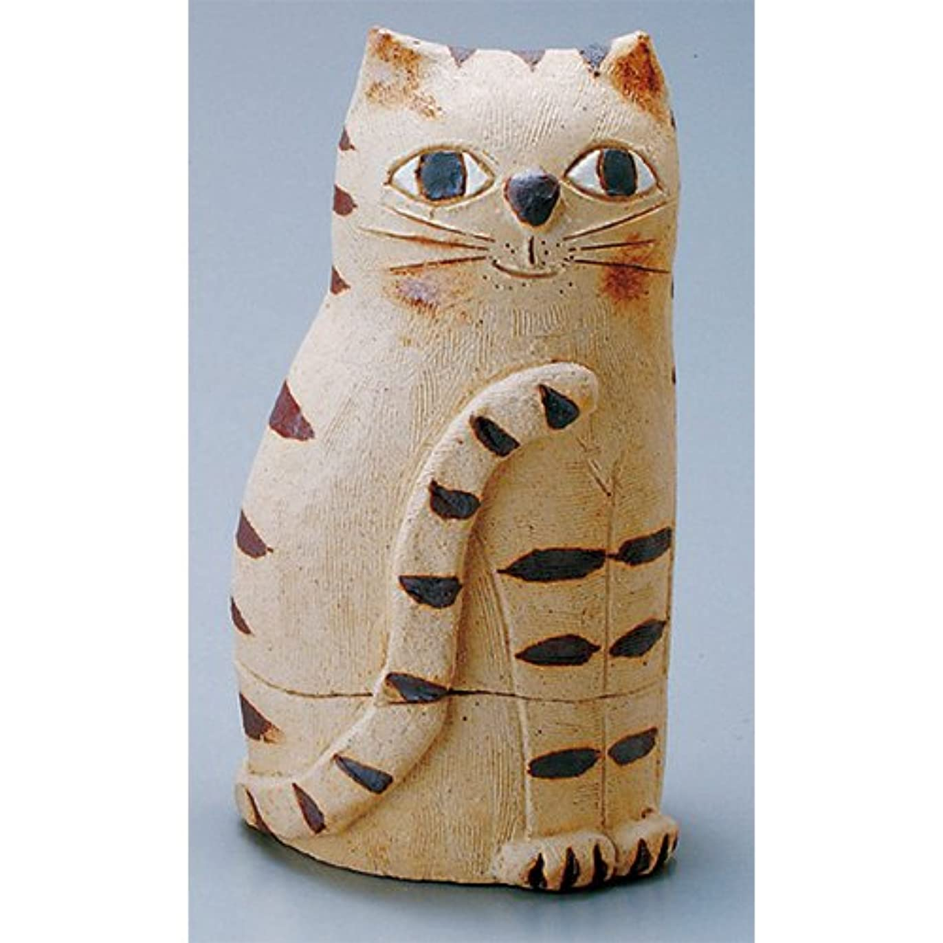 香炉 蔵猫 香炉(大) [H17cm] HANDMADE プレゼント ギフト 和食器 かわいい インテリア