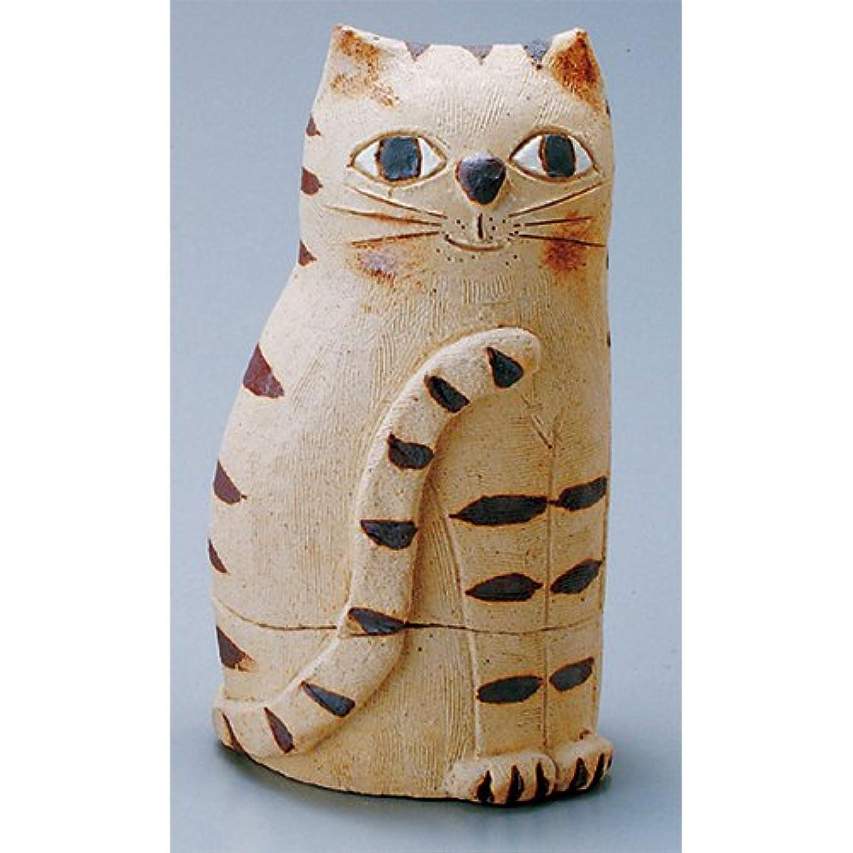 シングルサークルどこにでも香炉 蔵猫 香炉(大) [H17cm] HANDMADE プレゼント ギフト 和食器 かわいい インテリア