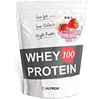 アルプロン ホエイプロテイン100 1kg【約50食】 (イチゴミルク)