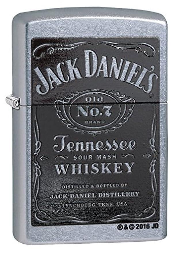 接続詞滝永久ZIPPO(ジッポー) Jack Daniel's Lighters ( ジャック ダニエル ライター) 日本未発売 Street Chrome [並行輸入品]