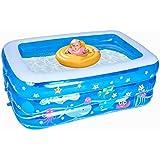 インフレータブルプール、肥厚赤ちゃん大きな大人家庭用入浴バケツ子供マリンボールパディングプール (サイズ さいず : 150*105*45cm)