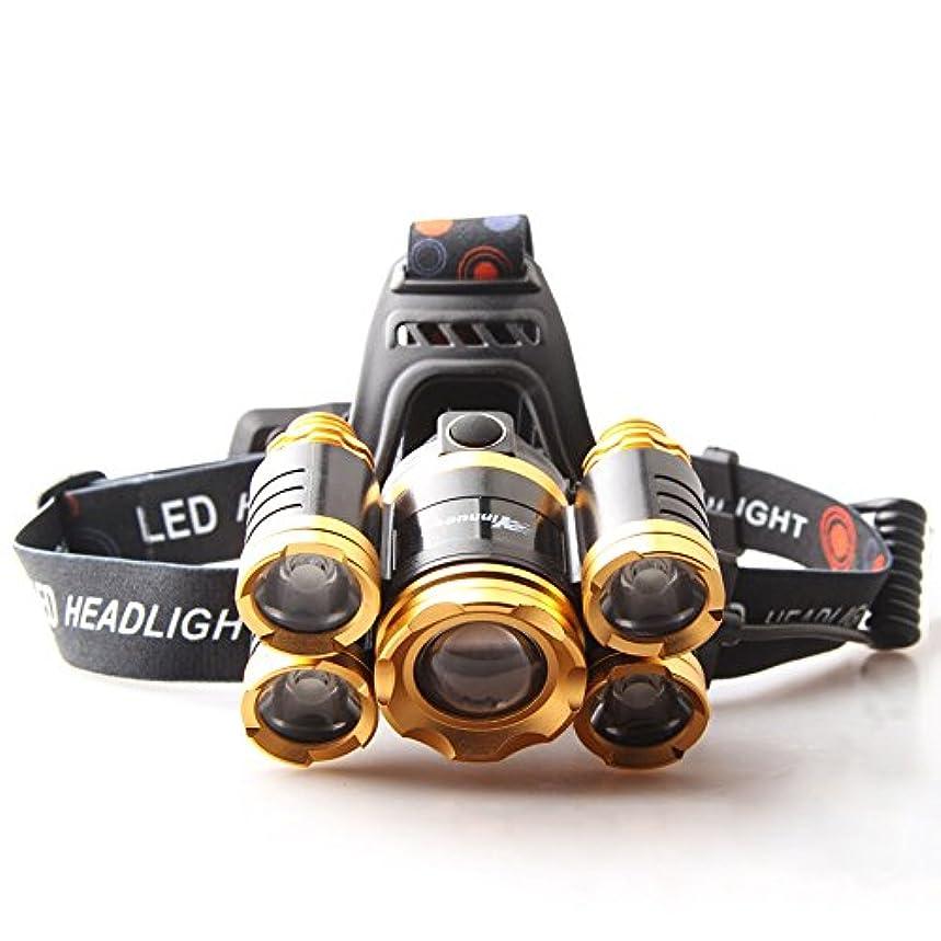 連続した雄弁ななるMUTANG 屋外LED誘導ヘッドライトキャンプ乗馬ウォーキング釣り範囲ヘッドマウント懐中電灯9000Wライト調節可能なUSBスマート高速充電ホワイトライト