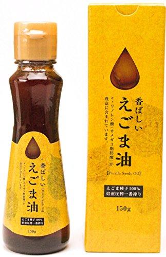 『徳山物産 香ばしいえごま油 150g』のトップ画像