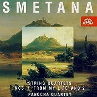 スメタナ:弦楽四重奏曲第1番ホ短調「わが生涯より」、第2番