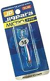 メジャークラフト ルアー メタルジグ ジグパラ マイクロ スリム 3g #7 ゼブラグロー