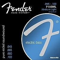 Fender Bass Strings Pure Nickel 7150ML 45-100 エレキベース弦×2セット
