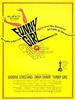 ADVERTISING MOVIE FILM FUNNY GIRL STREISAND SHARIF 30X40 CMS FINE ART PRINT ART POSTER BB7491 by VINTAGE ADVERTISING