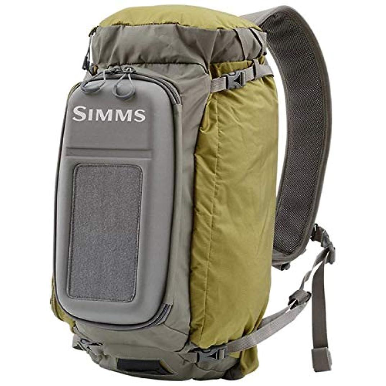 かける適応リフトSIMMS シムス Waypoints Sling Pack Large 17L ウェイポインツ スリング パック アーミーグリーン Army Green [並行輸入品]