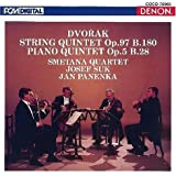 ドヴォルザーク:弦楽五重奏曲第3番&ピアノ五重奏曲