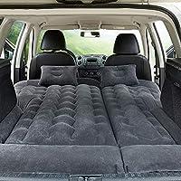 旅行車のベッド膨脹可能な空気マットレスのキャンピングカーのための2つの空気枕空気ポンプが付いている後部座席