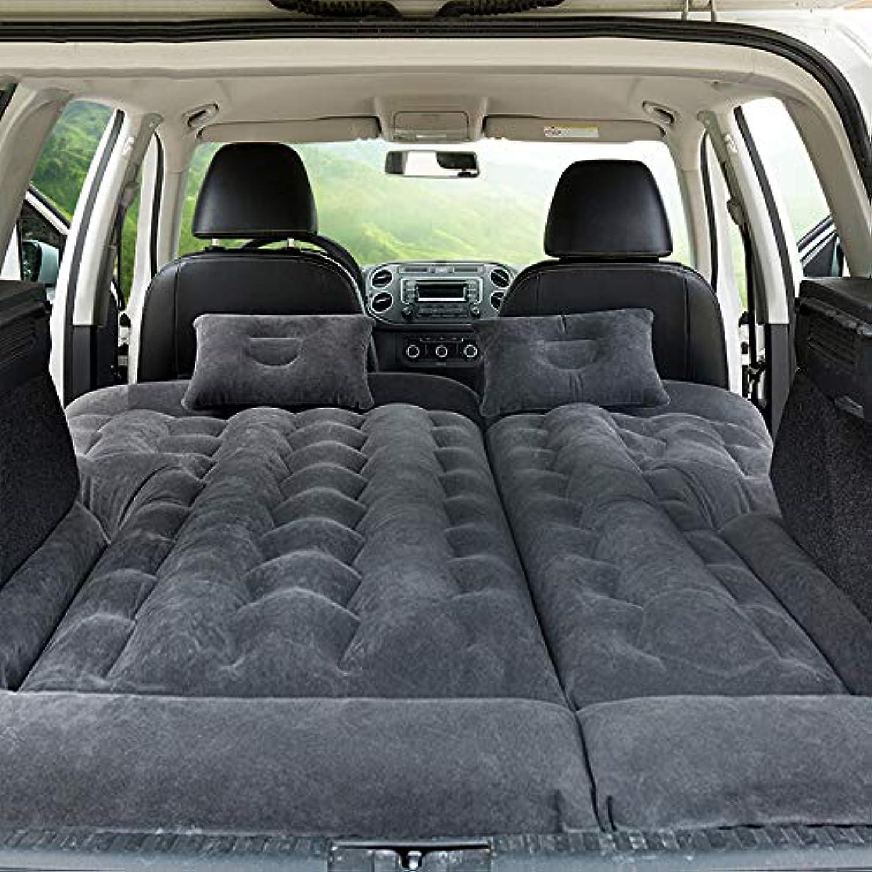 分注する動協力的旅行車のベッド膨脹可能な空気マットレスのキャンピングカーのための2つの空気枕空気ポンプが付いている後部座席