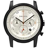 BEAMS [wena project] Chronograph Premium Black WD beams edition WN-WC02B-H