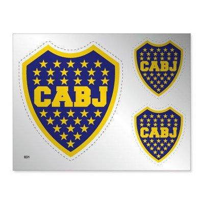 [해외]보카 주니어스 실버 스티커/Boca Juniors Silver Sticker