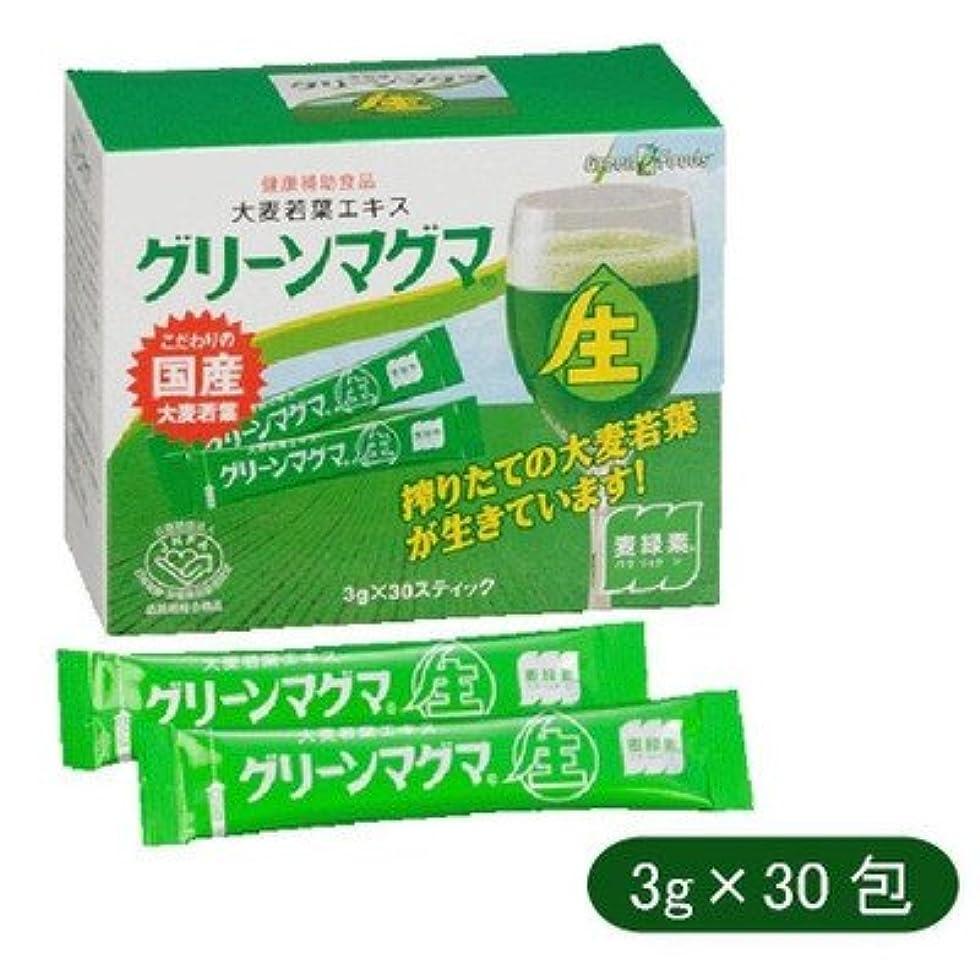 郵便局エレクトロニック混乱日本薬品開発 大麦若葉エキス グリーンマグマ 3g×30包 642670