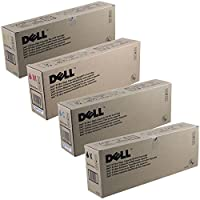 Dell GD898, GD900, KD557, JD750 High Yield Toner Cartridge Set by Dell