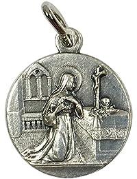 イタリア製メダイ カッシアの聖リタ (St.Rita of Cascia)