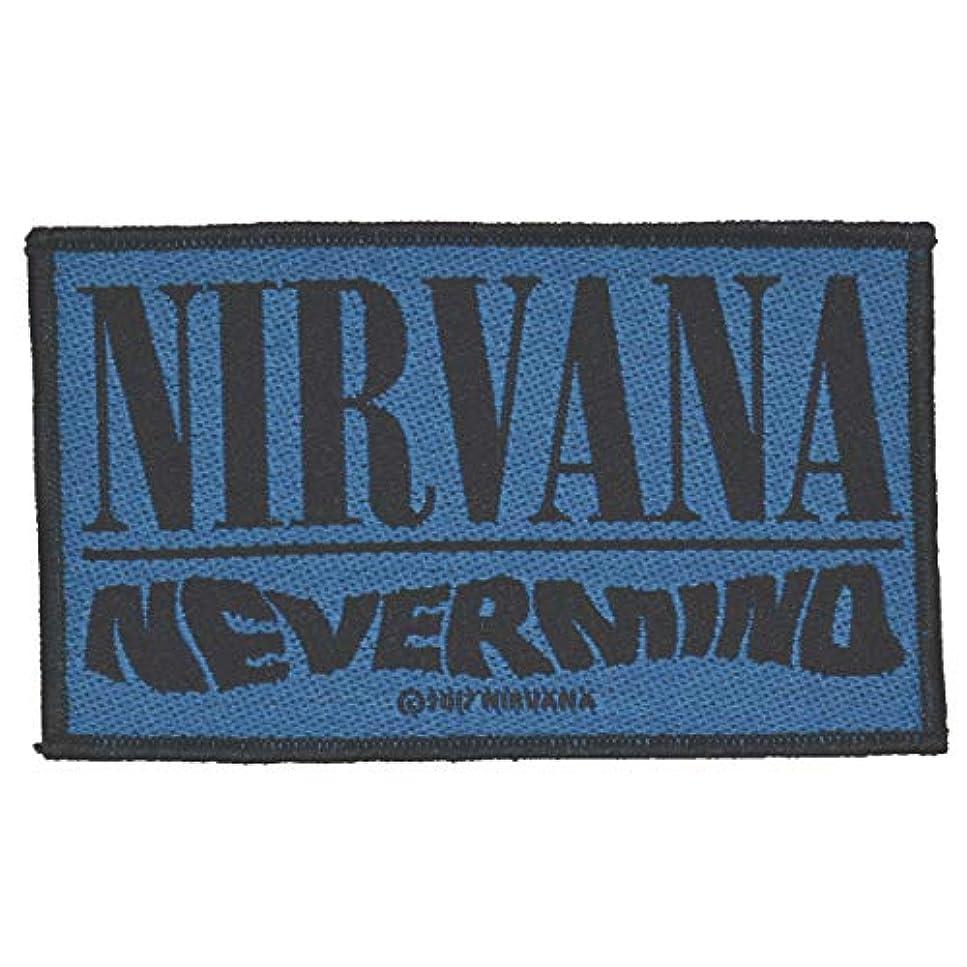 強化する彫刻罰NIRVANA ニルヴァーナ Nevermind Patch ワッペン ブルー
