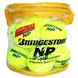 ブリヂストン(BRIDGESTONE) ノンプレッシャーテニスボール 12個入 BBA46BT