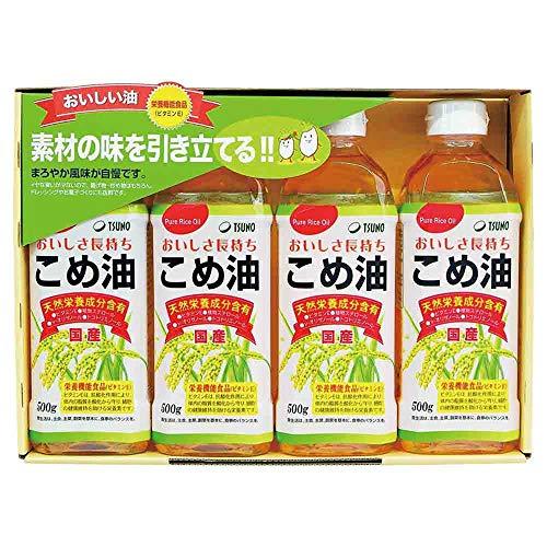 築野食品 国産こめ油ギフトセット TFKA-20 [米油]