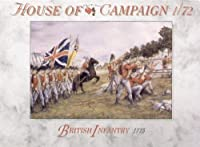 A Call To Arms #65 British Infantry 1775 1:72 Plastic Figures by A Call To Arms