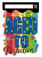 の年を祝うInvites–8/ Pkg。( Aged to Perfection )