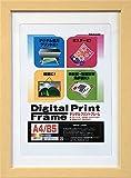 NAKABAYASHI デジタルプリントフレーム A4判/B5判 ナチュラル フ-DPW-A4-N