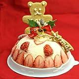 クリスマスケーキ2016 苺のミルフィーユアイスケーキ4号(2人~3人用)
