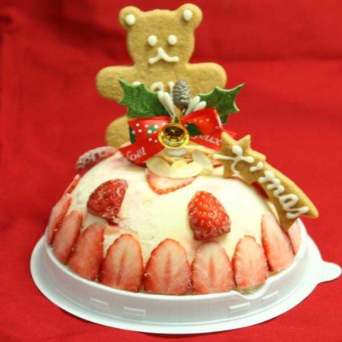 クリスマスケーキ2016 苺のミルフィーユアイスケーキ4号(2...