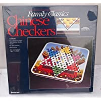 Family Classics Steel Board Checkers & Chinese Checkers