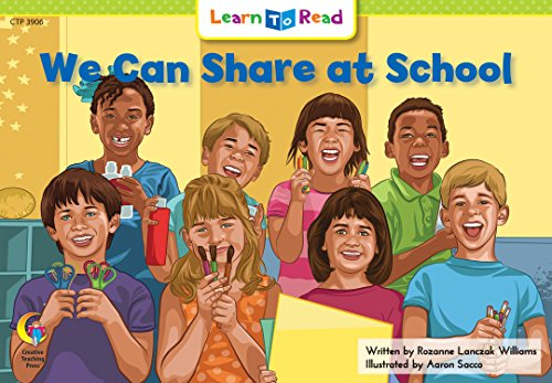 We Can Share At School (Social Studies Learn to Read)の詳細を見る