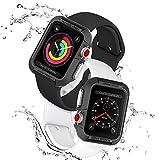 【Spigen】 Apple Watch ケース 落下 衝撃 吸収 Series 3/Series 2/Series 1 42mm 対応 ラギッド・アーマー SGP11496 (ブラック)