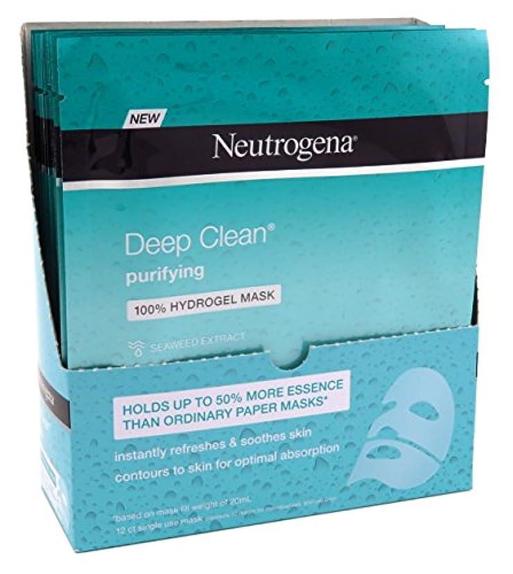 シュリンク指定調整Neutrogena ディープクリーンPurifyのヒドロゲルは、1オンス(12個)(30ML)をマスク