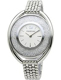 [スワロフスキー]SWAROVSKI 腕時計 クリスタルライン オーバル ホワイト クォーツ ブレス 5181008 レディース 【並行輸入品】